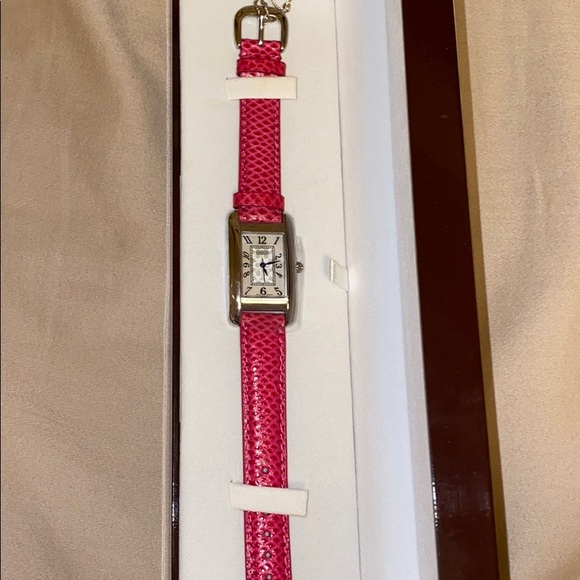 Coach Accessories - Pink Coach mother of Pearl watch